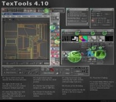【3dmax UV插件】TexTools for 3ds Max v4.1 最新版下载