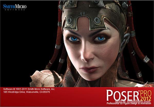 【Poser2012】Poser Pro 2012破解版下载0