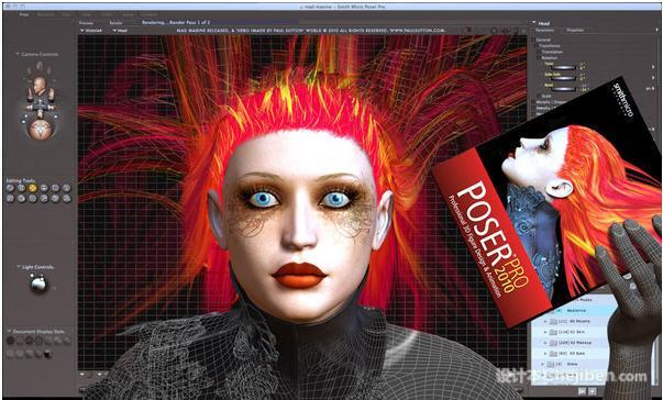 Poser Pro 2010(人物造型设计软件)v8.0 破解版下载0
