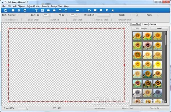图像处理软件(Toolwiz Pretty Photo)v2.7 中文绿色版下载0