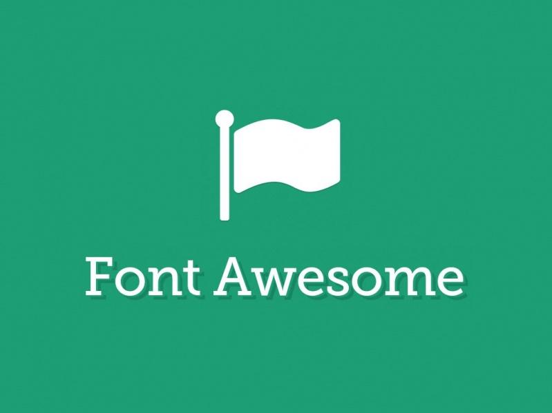 【PS插件】font awesome(css字体图标) v4.7.0 中文免费版