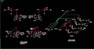 劳动局水系统图施工图