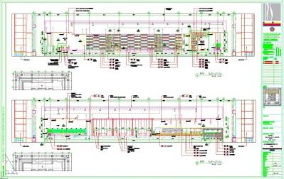 B型豪华包厢BD立面施工图
