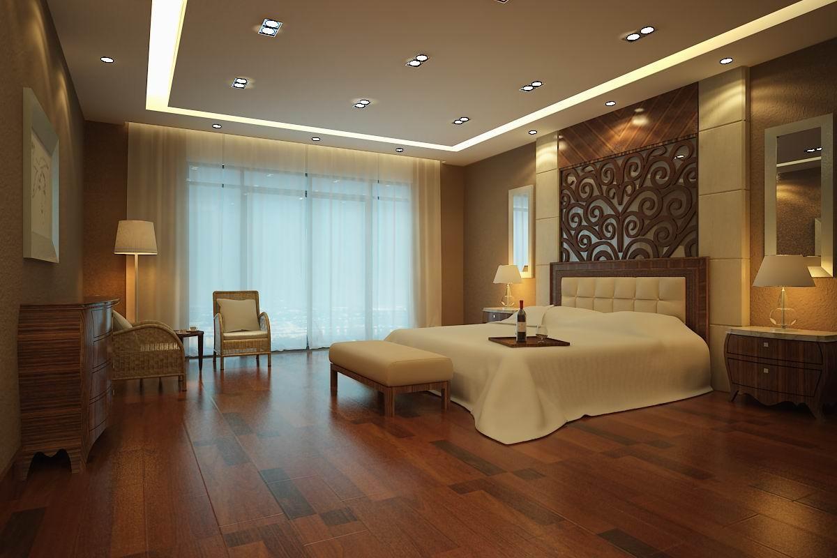 宾馆标准间3d效果图_宾馆标准间设计大全 – 设计本装修效果图