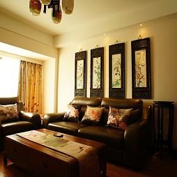 房屋中式客厅楷模家具装修效果图