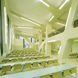 大学自习室校园文化设计图片