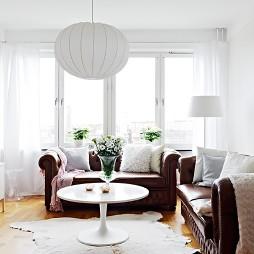 房屋小客厅窗帘装修效果图大全