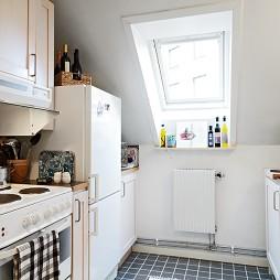 现代风格小户型整体小型家居厨房阁楼装修效果图欣赏