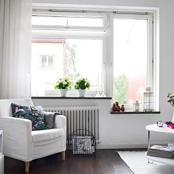 房屋小客厅窗台装修效果图片