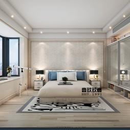 现代温馨卧室