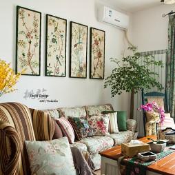 90后房屋农村室内小客厅设计装修效果图