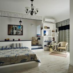 鬼手帕设计暗客厅卧室装修效果图