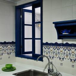 鬼手帕设计厨房洗手盆装修效果图