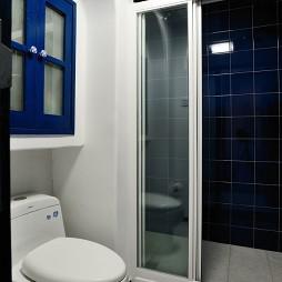 鬼手帕设计卫生间移门装修效果图