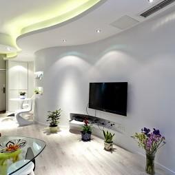 简单大方电视墙装修效果图集大全