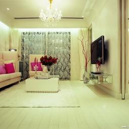 客厅和卧室隔断墙装修效果图
