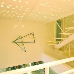 菲律宾联排别墅室内顶部装修效果图