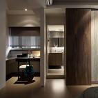 简约台北海华国际之星住家案卧室带洗手间装修效果图