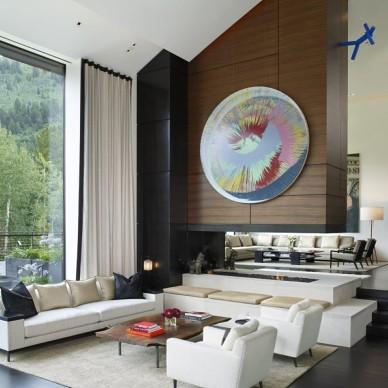家装不规则客厅装修效果图