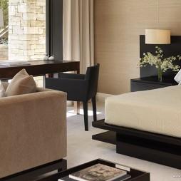家装卧室与客厅装修效果图