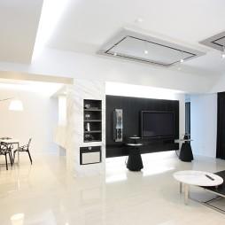 现代风格家居设计客厅吊顶装修效果图