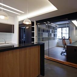 现代风格室内设计台北钜虹建设书房隔断装修效果图