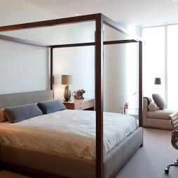 温哥华600平米豪华复式住宅设计暗客厅卧室装修效果图片