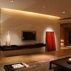 混搭家装客厅电视背景墙装修效果图片