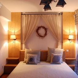 幸福的期盼卧室飘窗窗帘装修效果图