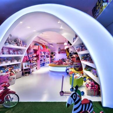 """巴塞罗那""""Pilar的故事""""玩具店室内设计 3"""