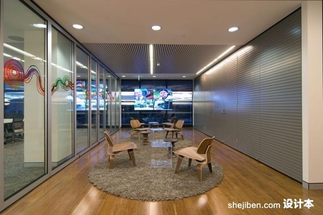 BBC总部工作区域设计1