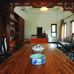 福州云母天郎别墅古典中式风格餐厅装修效果图