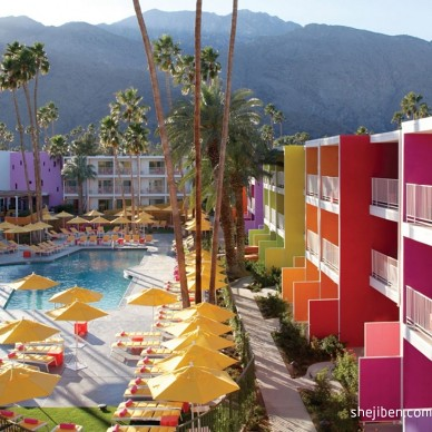 Saguaro酒店设计 暖色调色彩天堂_661447