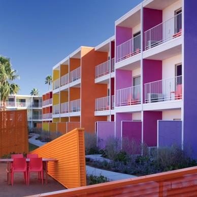 Saguaro酒店设计 暖色调色彩天堂_661448