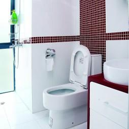 现代风格卫生间马赛克瓷砖墙面装修效果图片