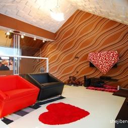 风尚波普打造香艳美屋时尚休闲区休闲椅装修效果图