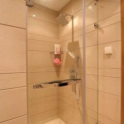 现代风格高档主卫生间淋浴房装修效果图片