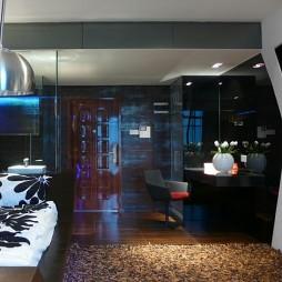 现代客厅及卧室装修效果图