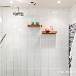 现代卫生间淋浴间装修效果图