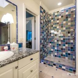 别墅设计卫生间沐浴间装修效果图