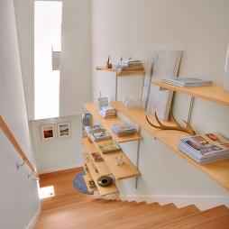 现代整体楼梯装修效果图