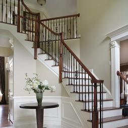 2017欧式风格二居室家居精品实木楼梯扶手装修效果图
