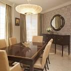 混搭小户型餐厅窗帘装修效果图片