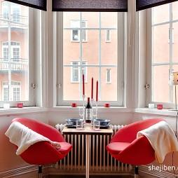 21平米小户型装修设计现代小餐厅装修效果图