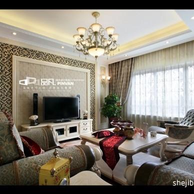 客厅最新欧式电视墙效果图