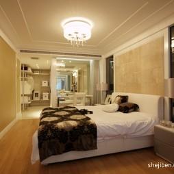 中式风格时尚卧室柜子装修效果图片
