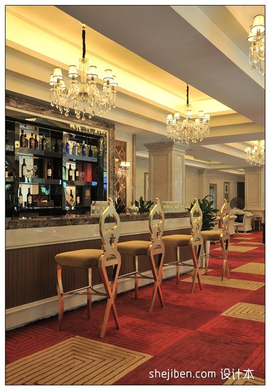 娱乐资讯_酒店吧台装修图片 – 设计本装修效果图