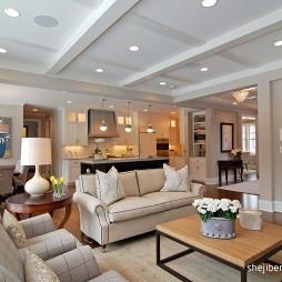 经典美式最新客厅装修效果图
