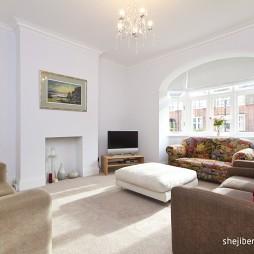 三层别墅设计美式风格客厅装修效果图大全
