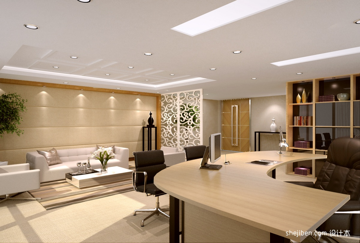 乐和彩_办公室方块毯图片 – 设计本装修效果图